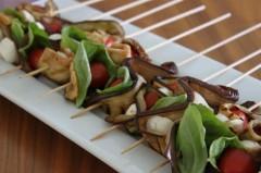 melanzane,pomodorini secchi,olio extravergine di oliva,basilico,food,italian recipe
